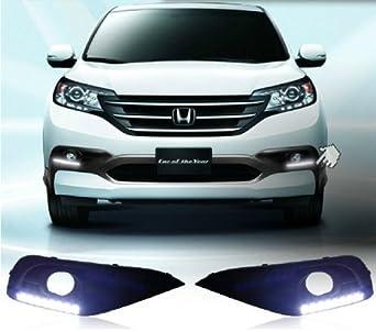 Amazon.com: AupTech Honda CRV 2012 2013 Daytime Running Lights Car LED