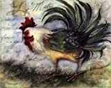 TPC/BEN P07AB11993V Le Rooster IV Poster Print by Susan Winget - 10 x 8