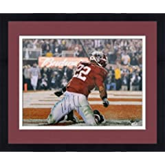 Framed Mark Ingram Autographed Alabama Crimson Tide Photo - 16x20 SM - JSA Certified...