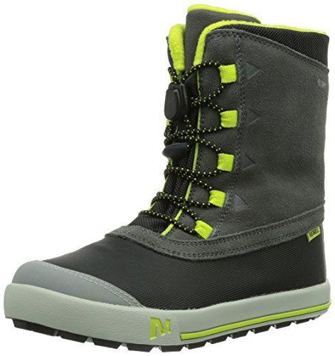 merrell snow bank waterproof boot kid big kid