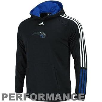 NBA adidas Orlando Magic Youth Black Performance Hoodie Sweatshirt by adidas