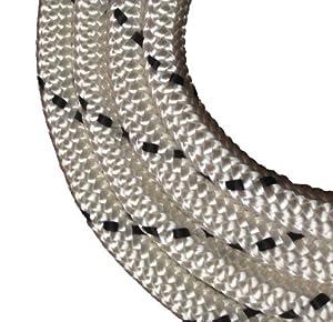 Schot-Tauwerk-Allroundleine 14mm Kennung schwarz 40m