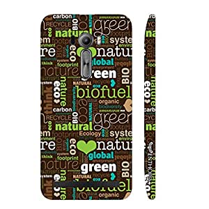 Enthopia Designer Hardshell Case Go Green Back Cover for Asus Zenfone Selfie