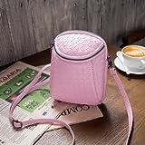 Generic Crossbody Bag For 5. 5-inch Smartphone- Pink