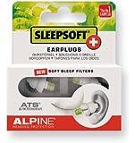 Alpine SleepSoft+ Bouchons d'oreilles pour dormir Blanc