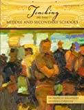 img - for Teaching in the Middle and Secondary Schools (9th Edition) by Richard D. Kellough (2008-08-03) book / textbook / text book