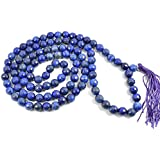 FairyBells Kart Energised Lapis Lazuli Diamond Cut Crystal Mala FBKAC93