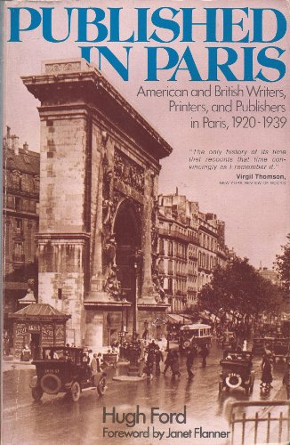 Published in Paris, Ford, Hugh