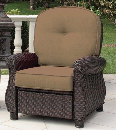 Breckenridge 4 Piece Patio Furniture Set Two Swivel: Breckenridge 3 Piece Patio Furniture Set: Two Recliners