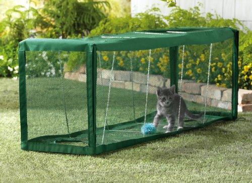 Outdoor Pet And Cat Tunnel by Winston Brands