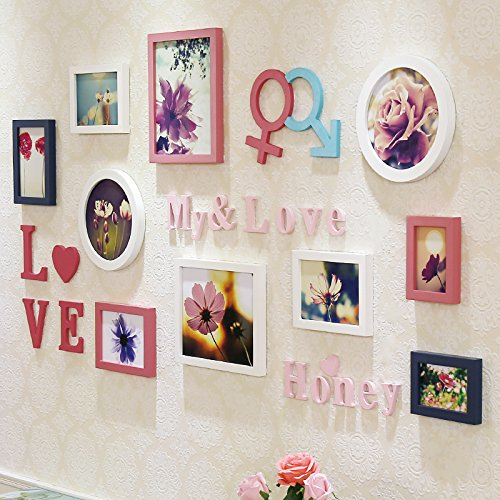 yupd hochzeit geschenk solide holz kombination von n foto wand foto wand foto frame wandbehang. Black Bedroom Furniture Sets. Home Design Ideas