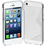 Cimo S-Line Back Case Flexible Cover TPU for Apple iPhone 5 - Clear