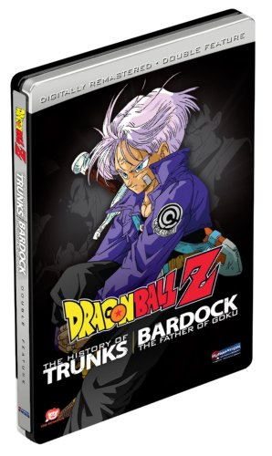 Dragon Ball Z Double Feature - The History of Trunks / Bardock the Father of Goku (Steelbook)