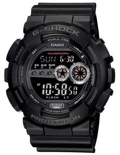 G-Shock X-Large Digital GD100 Military Black