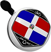 Bicycle Bell Dominican Republic Flag by NEONBLOND