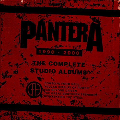The Complete Studio Albums 1990-2000 by Pantera (2015-08-03)