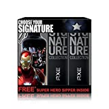 #3: Axe Signature Perfume, 122ml (Pack of 2) with Free Captain America Sipper