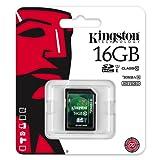 Kingston 16GB SD SDHC Class 10 Memory Card For Panasonic Lumix DMC-TZ40, Panasonic Lumix DMC-TZ35, Panasonic Lumix DMC-FZ200, Nikon Coolpix P520, Canon Powershot SX50 HS, Sony Cybershot DSC-RX100, Canon Ixus 255 HS, Nikon Coolpix S9500, Olympus Tough TG-