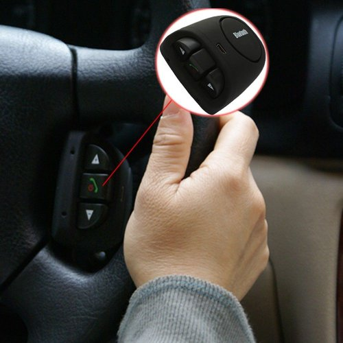 Lentenda Hands-Free Bluetooth Car Kit Speaker For Iphone 3 4S 5 Samsung Note Galaxy Nokia