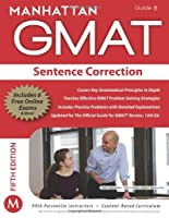 GMAT Strategy Guide, 5th Edition: Sentence Correction, Guide 8 Front Cover