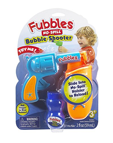 Little Kids Fubbles No-Spill Bubble Shooter (Colors may vary)