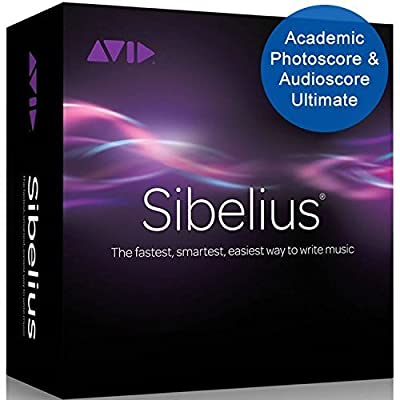 Sibelius 8 Academic with Photoscore 8 & Audioscore 8 (Download Card)