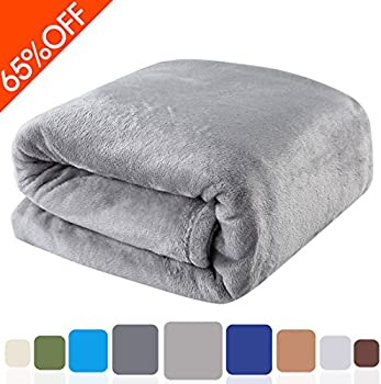 Balichun 330GSM Fleece Queen Bed Blanket