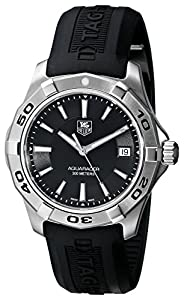 TAG Heuer Men's WAP1110.FT6029 Aquaracer Black Watch
