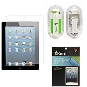 iKare Pack of 10 Matte Screen Protector for Apple iPad Mini / Mini 2 / Mini 3 + 2600 mAh Power Bank
