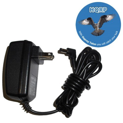 HQRP Partition Travel AC Power Adapter Battery Charger compatible with Acer Aspire One D255E-13410 AOD255E-13410 D255E-13444 AOD255E-13444 + Coaster