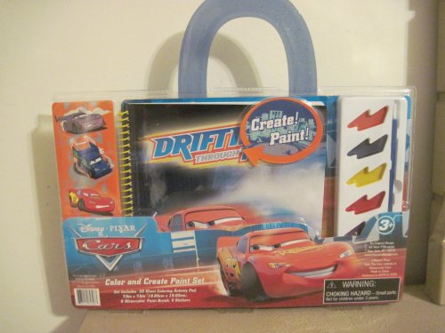 Disney Cars Color and Create Paint Set - 1