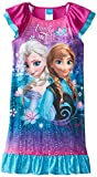 Disney Girl's 7-16 Anna and Elsa Nightgown