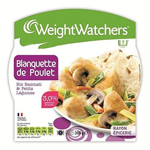 Weight Watchers - blanquette de poulet riz basmati et légumes 300g