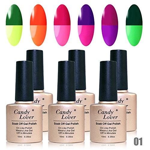 Candy-Lover-Temperature-Color-Changing-Gel-Nail-Polish-6-Pcs-Gel-Nails-10ml