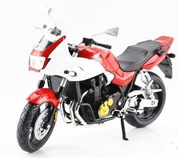 HONDA CB1300SB moto en alliage modele de jouets Vehicule Miniature Echelle 1/12 (ROUGE)