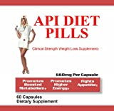 API Diet Pills | Clinical Strength APPROVED Diet Pills with Real RESULTS! | 660 Mg including CoQ-10 |60 Engineered Capsules designed to help you Lose Weight Quick | Safe, Effective, and all Natural Weight Loss Dietary Supplement created to Achieve Your Goals!