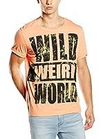 Guess Camiseta Manga Corta (Naranja)