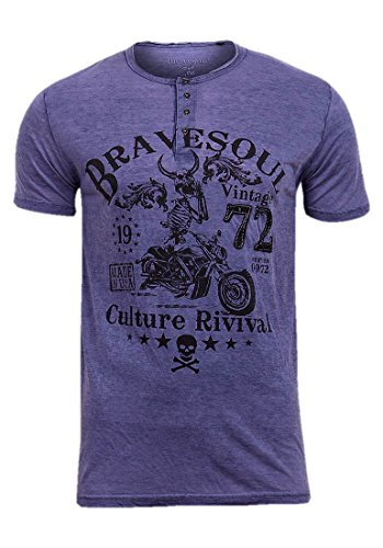 mens-brave-soul-vintage-us-airforce-military-t-shirt-s-xl-large-brown