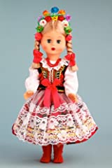 Krakovian Girl (Krakowianka) - 18 Inch Collectible Regional Doll