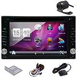 Pupug GPS Navigator 6.2 HD Digital Touch Screen Double 2 Din Head Unit Car Radio Vehicle Car DVD Player 3D PIP...
