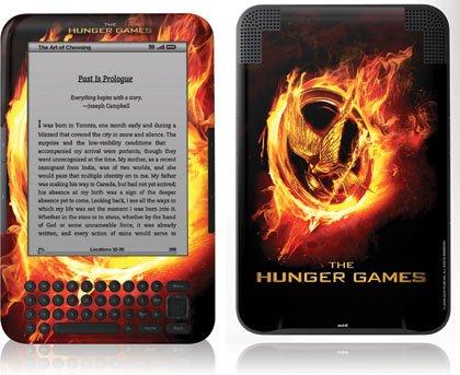 Skinit The Hunger Games Logo Vinyl Skin for Amazon Kindle 3