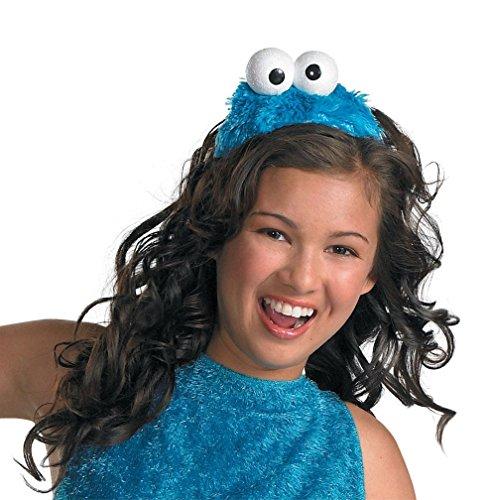 Popcandy Cookie Monster Headband Sesame Street Costume Headband 16743 (Cookie Monster Headband)
