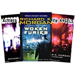The Takeshi Kovacs Trilogy: Altered Carbon, Broken Angels & Woken Furies (       UNABRIDGED) by Richard K. Morgan Narrated by Todd McLaren, William Dufris