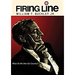 Firing Line With William F. Buckley Jr. &quot;What Do We Owe Our Country&quot;