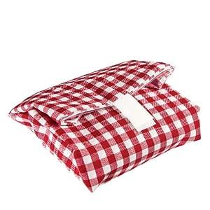 Lurch 220900 Pausenbrot Wrap It karo rot