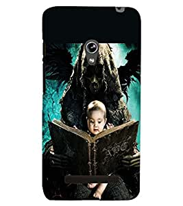 PRINTSWAG BABY WITH GHOST Designer Back Cover Case for ASUS ZENFONE 5 A501CG