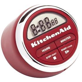 Kitchenaid Classic Digital Timer Red