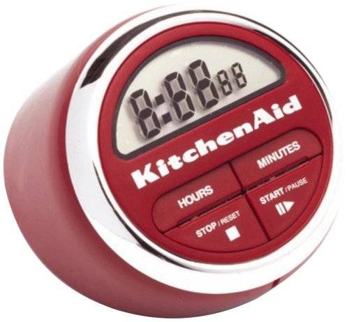 KitchenAid Classic Digital Timer (Red) (Kitchen Timer Kitchen Aid compare prices)