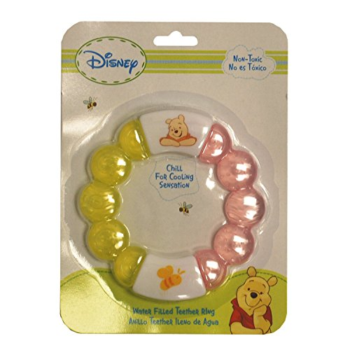 Disney Winnie The Pooh Water Filled Teether Ring - 1