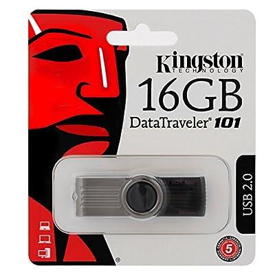 Kingston DataTraveler DT101 G2 16GB USB 2.0 Pen Drive (Black)